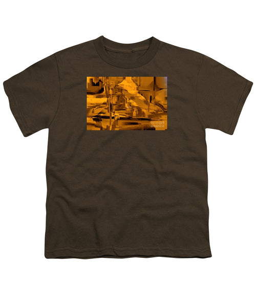 Youth T-Shirt - Abstract In Sepia