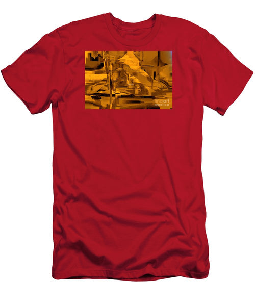Men's T-Shirt (Slim Fit) - Abstract In Sepia