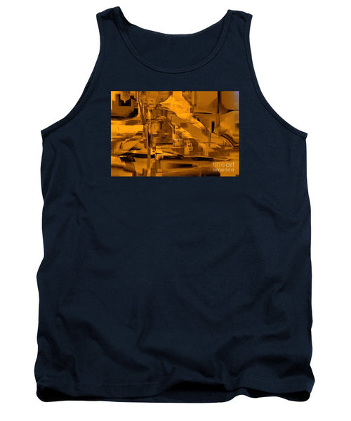 Tank Top - Abstract In Sepia