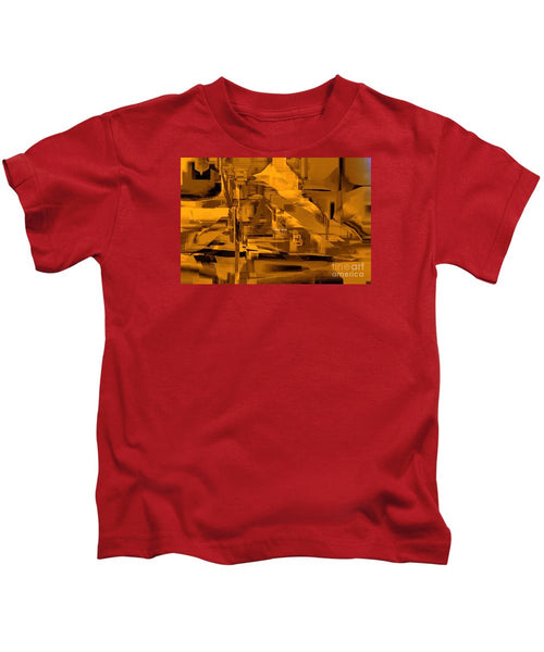 Kids T-Shirt - Abstract In Sepia