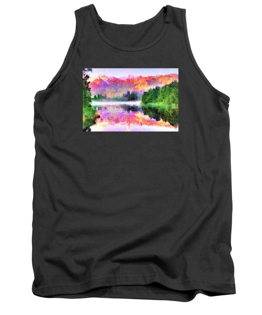 Tank Top - Abstract Landscape 0743