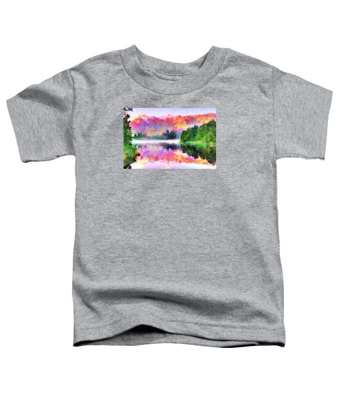Toddler T-Shirt - Abstract Landscape 0743