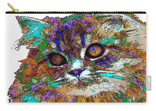 Carry-All Pouch - Adele The Cat. Pet Series