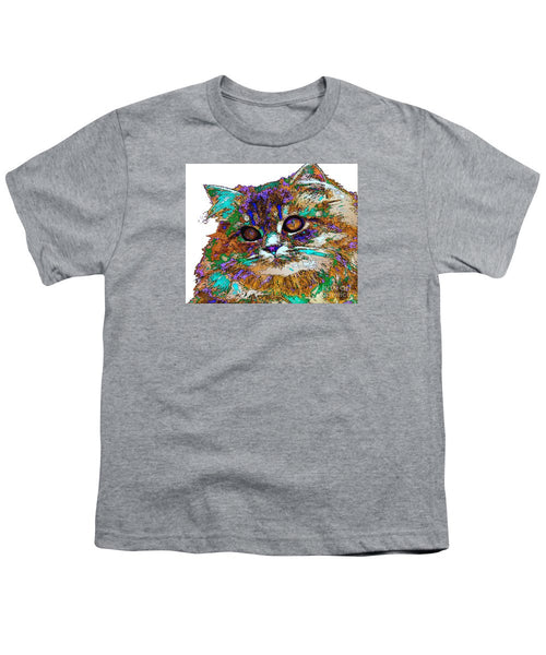 Youth T-Shirt - Adele The Cat. Pet Series