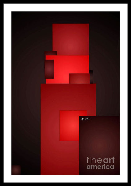 Framed Print - All In Red