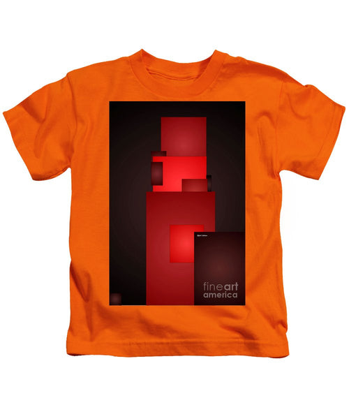 Kids T-Shirt - All In Red