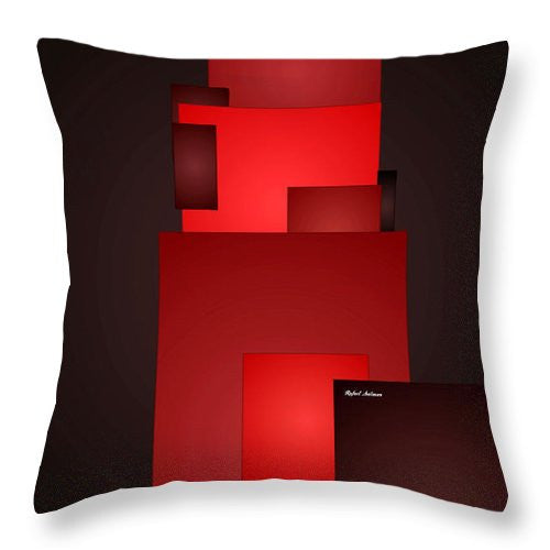 Throw Pillow - All In Red