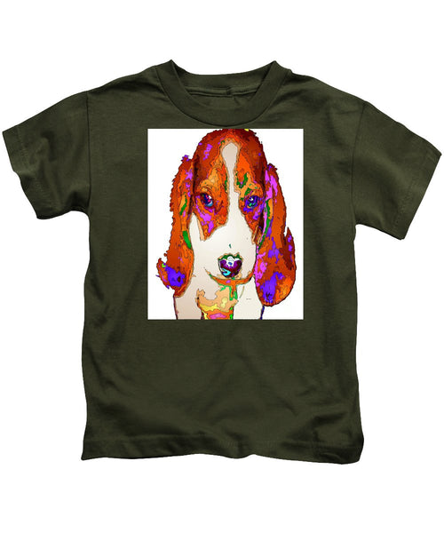 Kids T-Shirt - Am I Cute Or What. Pet Series