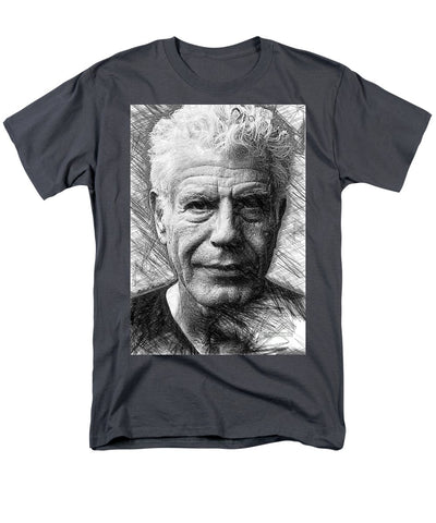 Anthony Bourdain - Ink Drawing - Men's T-Shirt  (Regular Fit)