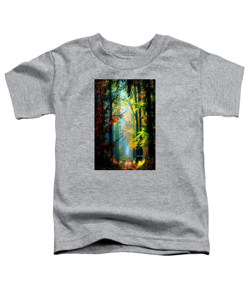 Toddler T-Shirt - Autumn Trails In Georgia