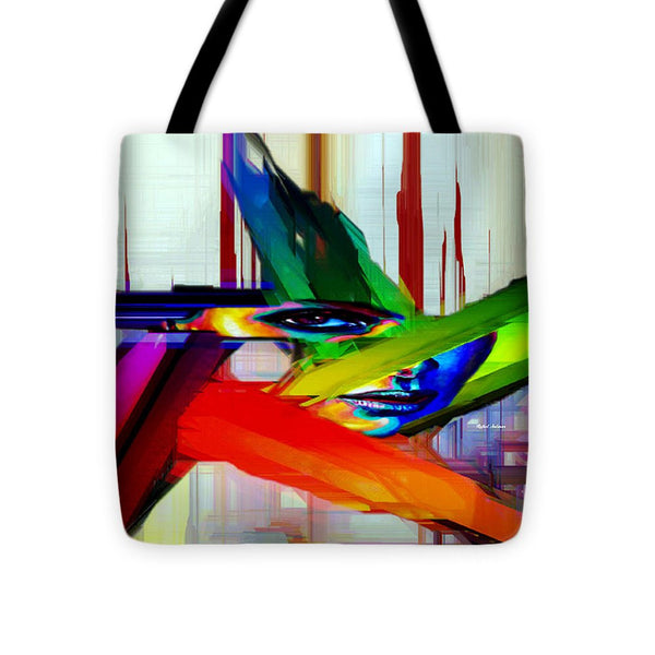 Tote Bag - Behind The Glass