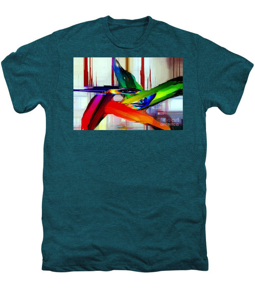 Men's Premium T-Shirt - Behind The Glass