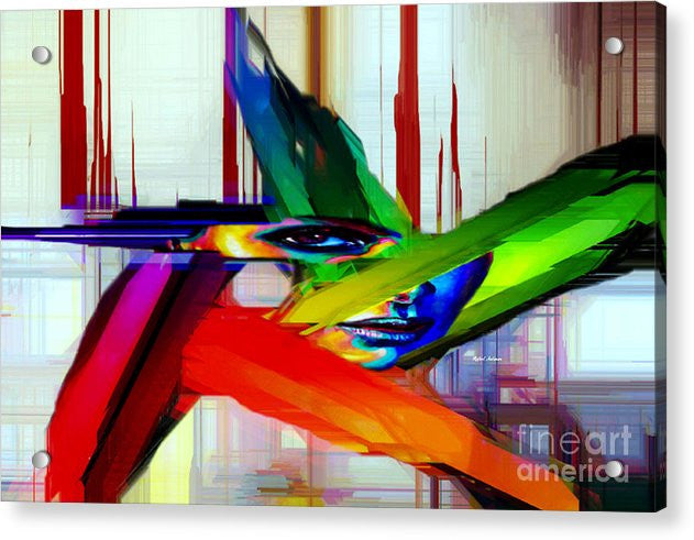Acrylic Print - Behind The Glass