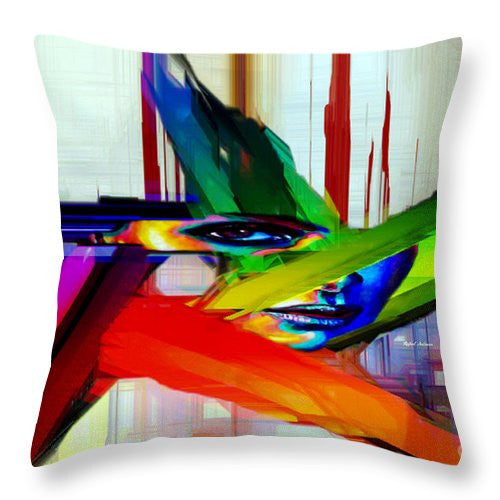 Throw Pillow - Behind The Glass