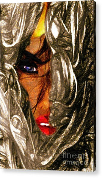 Acrylic Print - Behind The Veil