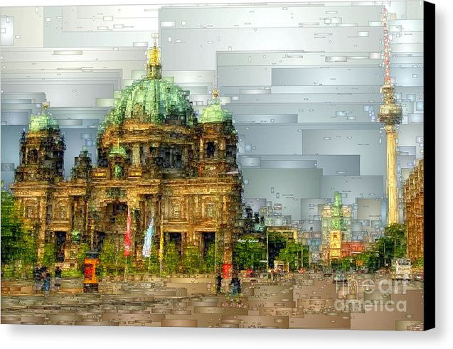Canvas Print - Berlin Cathedral