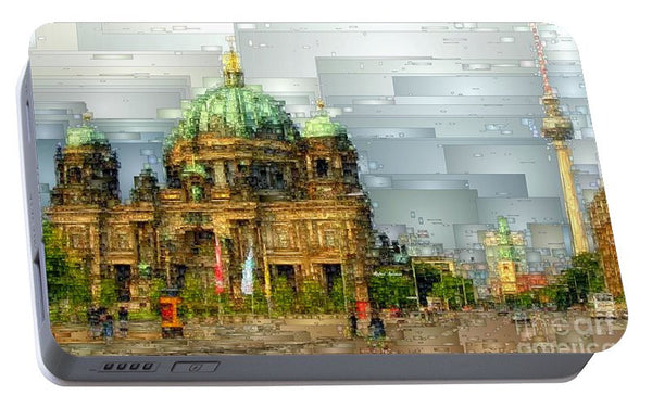 Portable Battery Charger - Berlin Cathedral