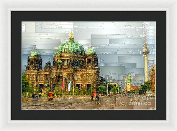 Framed Print - Berlin Cathedral