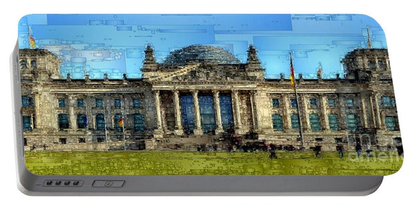 Portable Battery Charger - Berlin Parliament Reichstag Building