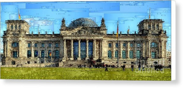 Canvas Print - Berlin Parliament Reichstag Building