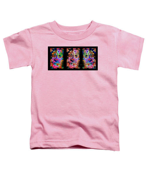Toddler T-Shirt - Besties, Best Friends, Sisters