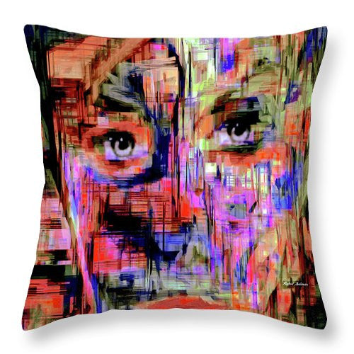 Throw Pillow - Besties