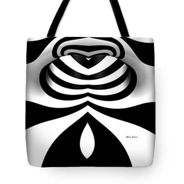 Tote Bag - Black And White Tunnel