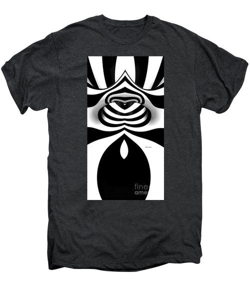 Men's Premium T-Shirt - Black And White Tunnel