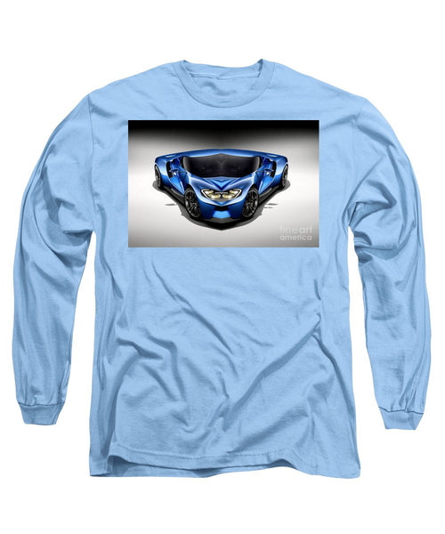 Long Sleeve T-Shirt - Blue Car 003