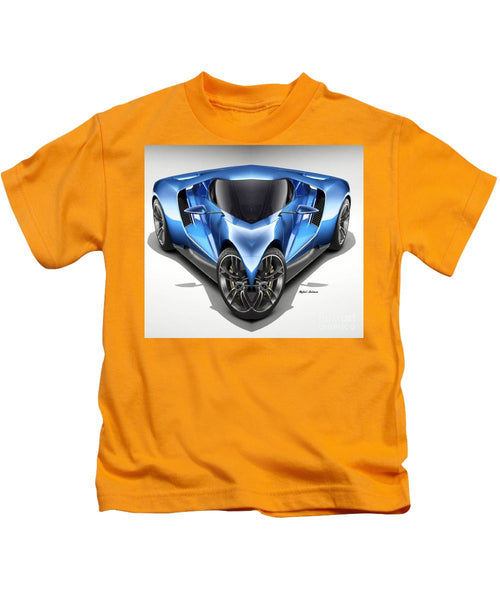 Kids T-Shirt - Blue Car 01