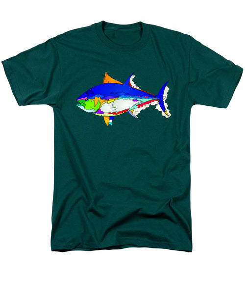 Men's T-Shirt  (Regular Fit) - Bluefin Tuna
