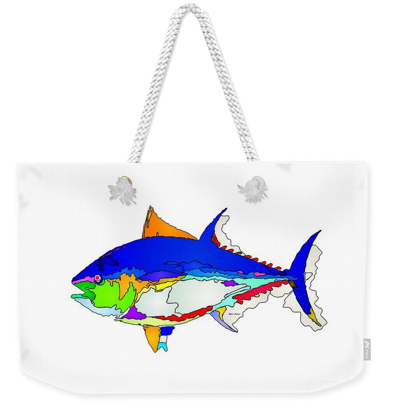 Weekender Tote Bag - Bluefin Tuna