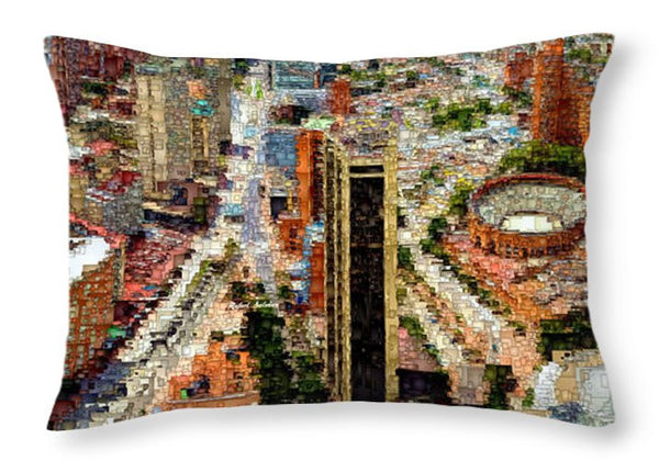 Throw Pillow - Bogota Colombia