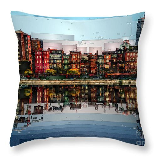 Throw Pillow - Boston, Massachusetts