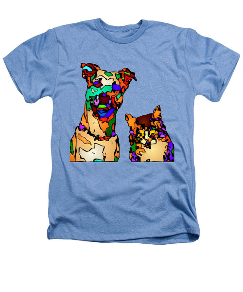 Heathers T-Shirt - Buddies For Life. Pet Series