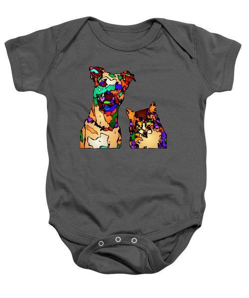 Baby Onesie - Buddies For Life. Pet Series