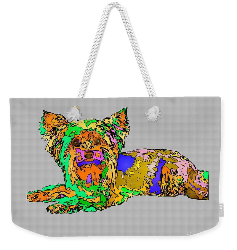 Weekender Tote Bag - Buddy. Pet Series