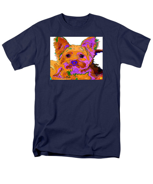 Men's T-Shirt  (Regular Fit) - Buddy The Baby. Pet Series