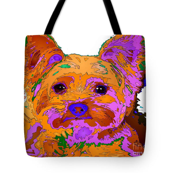 Tote Bag - Buddy The Baby. Pet Series