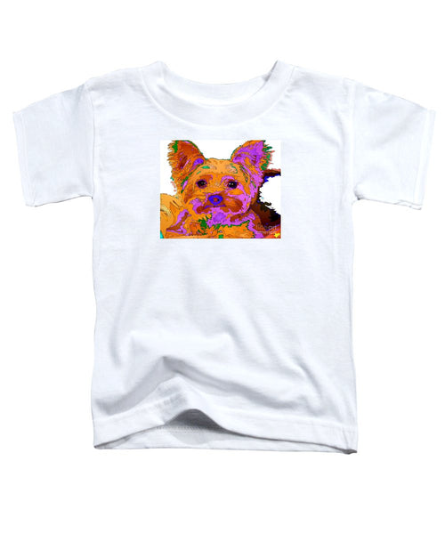 Toddler T-Shirt - Buddy The Baby. Pet Series