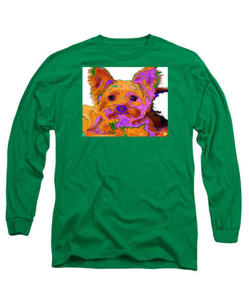 Long Sleeve T-Shirt - Buddy The Baby. Pet Series