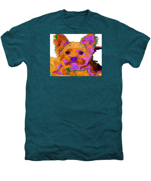 Men's Premium T-Shirt - Buddy The Baby. Pet Series