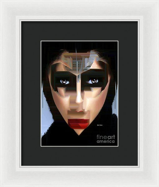 Framed Print - Can You Tell