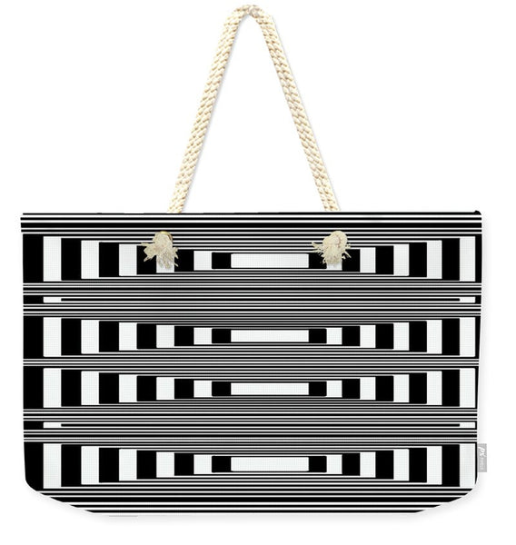 Weekender Tote Bag - Can't Make Up My Mind