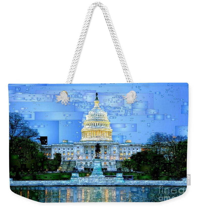 Weekender Tote Bag - Capitol In Washington D.c