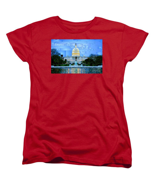 Women's T-Shirt (Standard Cut) - Capitol In Washington D.c
