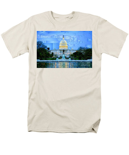 Men's T-Shirt  (Regular Fit) - Capitol In Washington D.c
