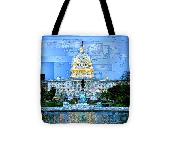 Tote Bag - Capitol In Washington D.c