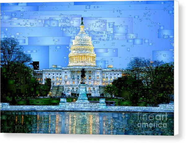Canvas Print - Capitol In Washington D.c