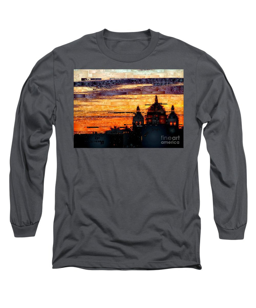 Long Sleeve T-Shirt - Cartagena Colombia Night Skyline